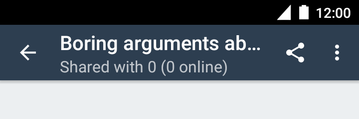 Sharing a forum, step 1